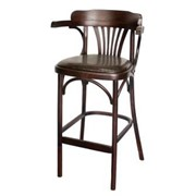 Кресло барное Apollo, краситель 325 обивка кож. зам. фото