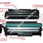 Заправка и восстановление картриджей, заправка картриджа HP 85A фото