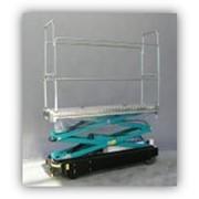 Алюминиевые трубо-рельсовые тележки фото