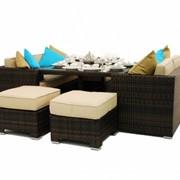 Комплект мебели из искусственного ротанга К14 фото