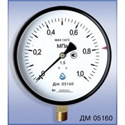 Манометр общего назначения ДМ 05160 - 60 кгс/см2 - 1,5 - 01М ТУ У 33.2-14307481-031:2005 фото