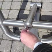 Парковочные барьеры. фото