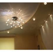 Матовый натяжной потолок в спальню фото