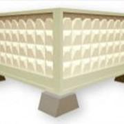Плиты для железобетонных оград фото