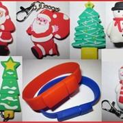 Новогодние флешки, Новогодние флешки на 2Гб и на 4Гб, Сувениры, Новогодние сувениры. фото