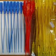 Пластиковые пломбы номерные одноразовые в Алматы фото