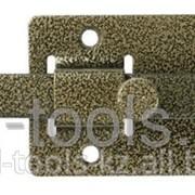 Задвижка накладная ЗД-06для дверей усиленная, порошковое покрытие, цвет серебро, квадратный засов 15х145х15мм Код:37786-6 фото