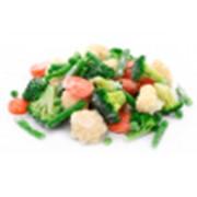 Овощи весенние смесь 1 кг. фото