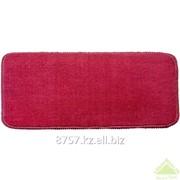 Коврик для ванной комнаты из полипропилена, красный, 40х60 см фото