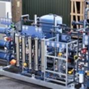 Сборная установка для подготовки турбинной воды фото