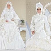 Платья свадебные мусульманские фото