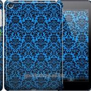 Чехол на iPad mini 3 Синий узор барокко 2117c-54 фото