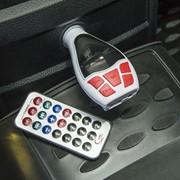 FM - трансмиттер, 12 В, USB/Mp3/WMA/AUX/MicroSD, цвет микс фото
