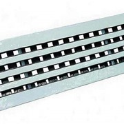 Вентиляционная решетка алюминиевая RPSP 2 800 фото