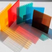 Сотовый поликарбонат от 3 до 10мм Прозрачный и цветной на складе. Для Теплиц, Беседок, Навесов. Доставка по всей области. Арт-№4518 фото