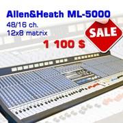 Звуковой аналоговый микшерный пульт Allen&Heath фото
