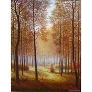 """Картина """"Осенний лес"""" фото"""