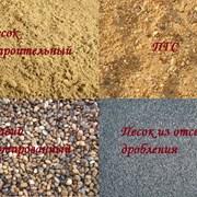 Доставка грунта, песка, щебня, пгс фото