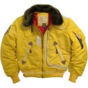 Куртка зимняя - желтый цвет фото