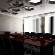 Дизайн интерьера конференц-зала, зала заседаний фото