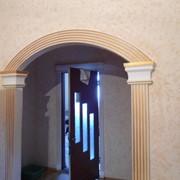 Порталы гипсовые, арки для дверей и проемов. фото