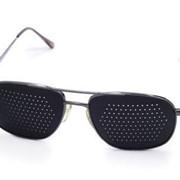Перфорированные очки-тренажеры, для всей семьи, универсальные (мужские и женские) фото