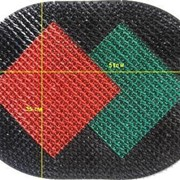 Пластиковый коврик 51 х 35 см фото