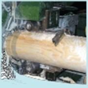 Оцилиндровка бревен фото
