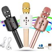Беспроводной микрофон Magic Karaoke Q8 (H3) Bluetooth с колонкой фото