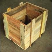 Деревянные контейнеры фото
