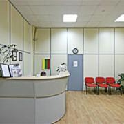 Перегородки офисные стационарные алюминиевые фото