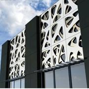 Разработка дизайнерских зданий-офисов фото