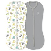 Конверт Summer Infant Конверт на молнии Swaddlepod®, (2шт.), размер S, экскурсия по сафари фото