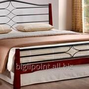 Кровать Флоренс 160х200 каштан фото