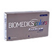 Линзы контактные цветные Biomedics Colors Premium фото