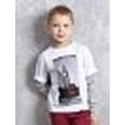 Осенняя футболка для мальчиков фото