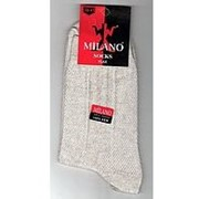 Носки мужские Milano 100% ЛЁН с сеткой фото