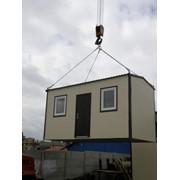 Проктирование и изготовление жилых, бытовых и технологических помещений контейнергого типа фото