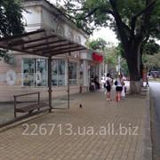 Зупинка громадського транспорту фото