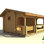 Бани деревянные ЛД-Б02 фото