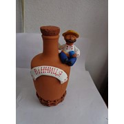 Бутылка сувенирная, украинская тематика фото