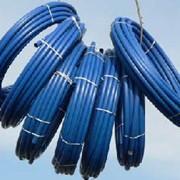 Трубы в бухтах, напорные системы ПЭ труб фото