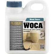 Прозрачное масло для ухода WOCA фото