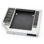 Фрейм-переходник Grand-X подключения HDD 2.5'' в отсек привода ноутбука, SATA/mSATA (HDC-24) фото
