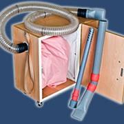 Универсальный пылесос для пунктов реставрации перопуховых изделий с функцией вакуумирования фото