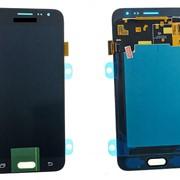 Дисплей для Samsung J320F (J3 2016) в сборе с тачскрином черный - AAA (TFT) с регулируемой подсветкой фото