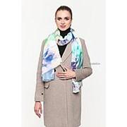 Модный палантин с короткой бахромой по бокам Di Daneli 109545 фото