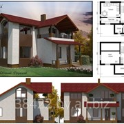 Проект индивидуального жилого дома Kalinouski фото