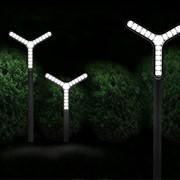 Дизайн ландшафтных светильников фото