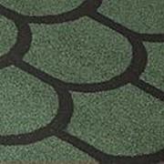 Рулонная черепица Технониколь, коллекция «Бобровый хвост», цвет Зеленый фото